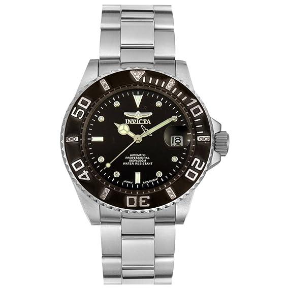 Invicta 4847 - Reloj de pulsera hombre, Acero inoxidable, color Plata