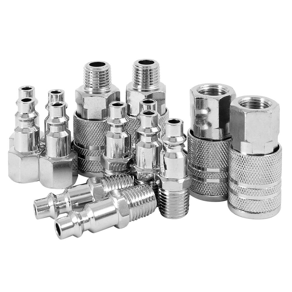 10× Euro Compressor Air Line Coupler Connector Fitting 1//4/'/' BSP Connect//Release