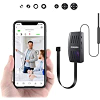 FREDI【Minicam】隠しカメラ 高画質 超小型 監視カメラ 1080P 録音 動体検知機能搭載 複数台接続可 4分割画面 リアルタイム監視対応 スパイカメラ WiFi 対応 防犯カメラ iPhone/Android 遠隔監視・操作