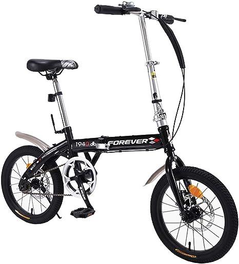 Axdwfd Infantiles Bicicletas Bicicleta Plegable, Bicicleta ...
