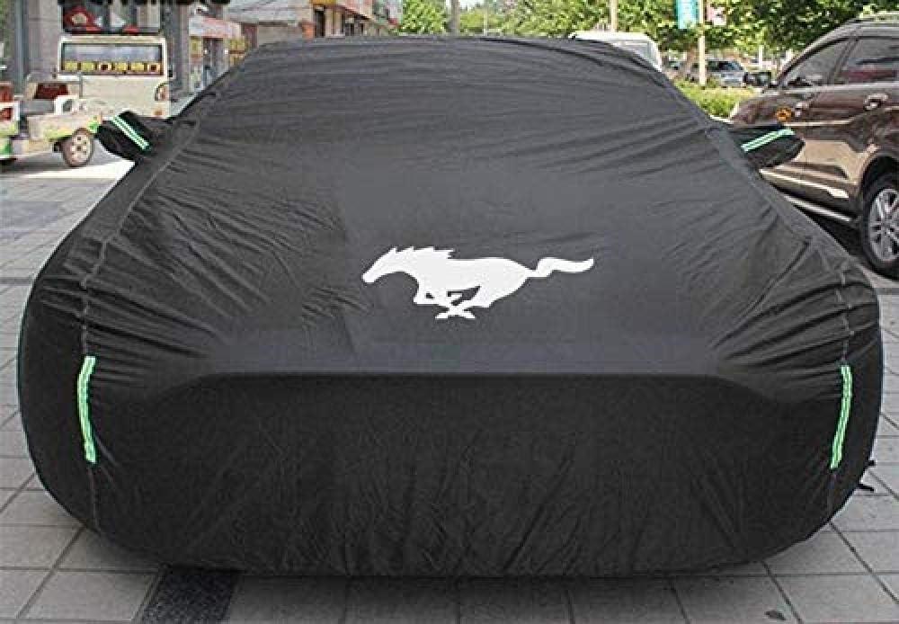 NNJJGS Auto-Schutzh/ülle Kompatibel Mit Ford Mustang wasserdichte Abdeckung Auto-Schutzh/ülle Anti-Staub Alle UV-Schutz
