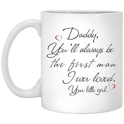 Amazon com: Custom Funny Quotes Coffee Mug Gift On Father's