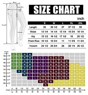 ODODOS High Waist Out Pocket Printed Yoga Capris Pants Tummy Control Workout Running 4 Way Stretch Yoga Capris Leggings
