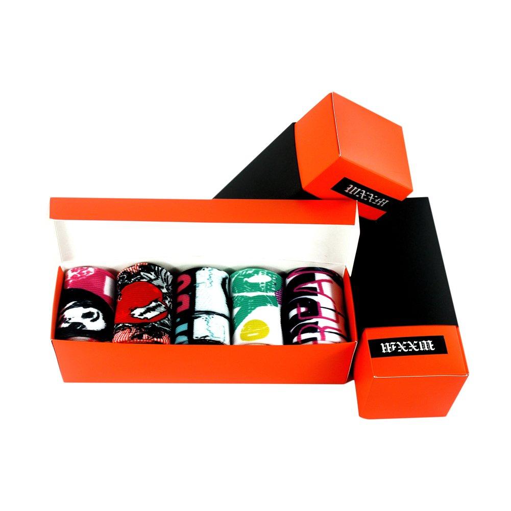 WXXM SOCKSHOSIERY メンズ B0749KDF7X 000/5 Pairs-gift Box D 000/5 Pairs-gift Box D