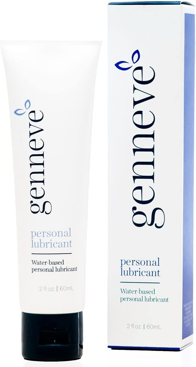 Personal Lubricant for Women, Water Based, All-Natural Lube for Vaginal Dryness, pH-Balanced, Non-Sticky, No Parabens, Glycerin, Hormones, or Fragrance, Travel-Sized (2 Ounces)