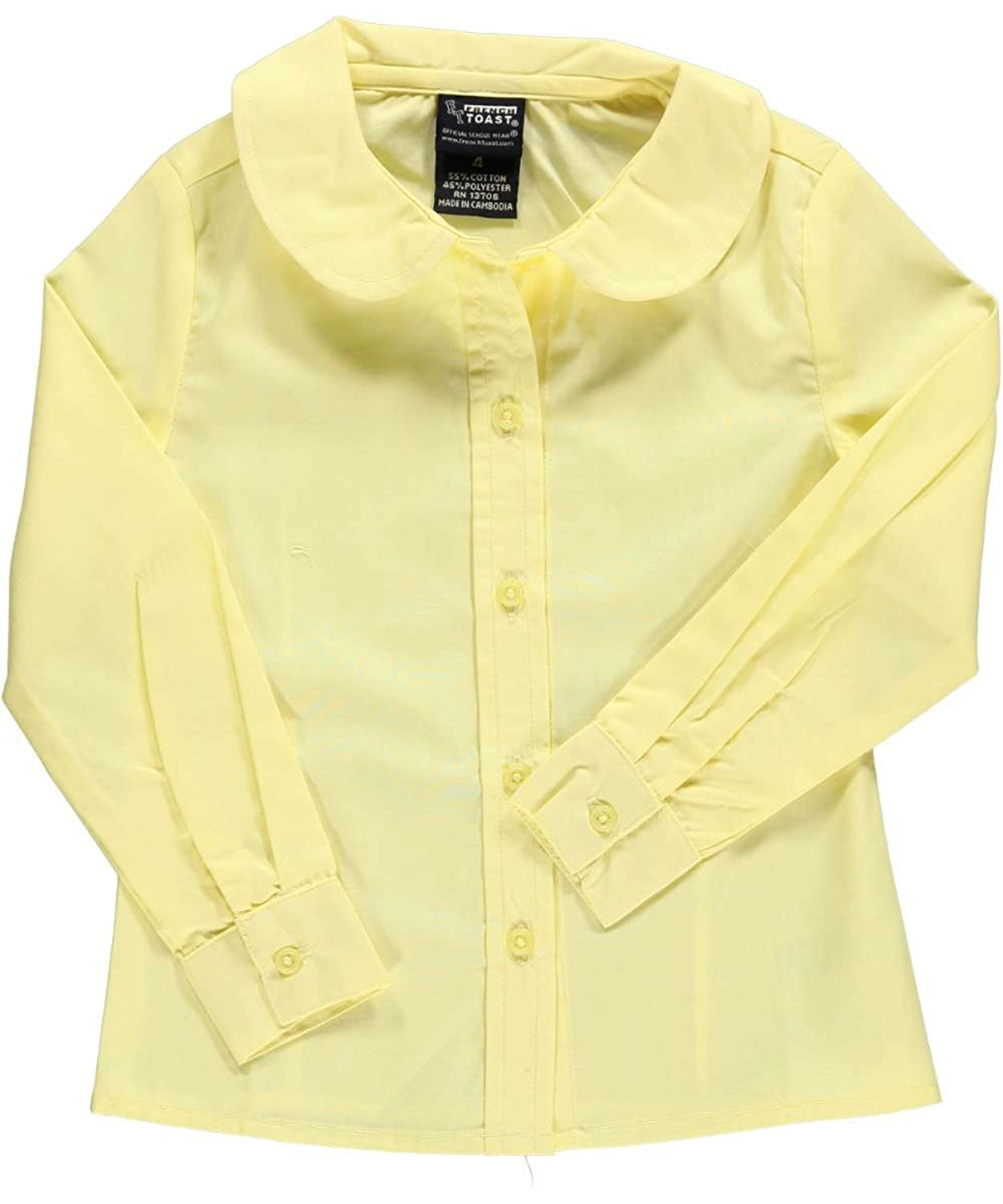 cc161f435f9 French Toast Girls Short Sleeve Peter Pan Collar Blouse
