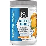 KetoLogic BHB – Keto Supplement – Suppresses Appetite / Increases Energy / Low Carb / Electrolytes / Beta-Hydroxybutyrate Salts – Orange-Mango, 30 Servings