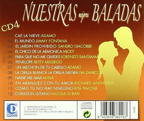 Nuestras Mejores Baladas : Various : Amazon.es: Música