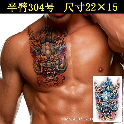 tzxdbh 3 Unids-Nuevo Tatuaje Pegatinas a Prueba de Agua Animal ...