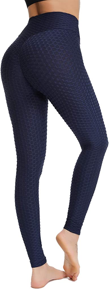 fianchi per il controllo della pancia Pantaloni modellanti per la compressione Pantaloni da yoga dimagranti a compressione Leggings da palestra a vita alta da donna