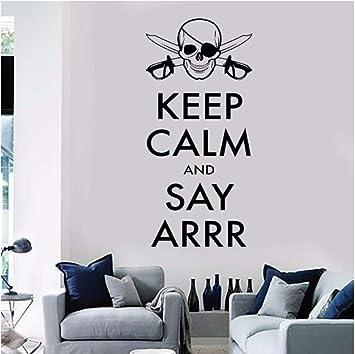 Amazon.com: qinheny Decals Teen Bedroom Corsair Quote Wall ...