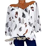 NEEDRA Sales Blouse Shirt Women Full Size 8-22 S-XXXXXL Cotton Off The Shoulder Bardot Plus Size Floral V-Neck Blouses Tops T Shirt