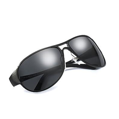 c871b37d57 Classic Aviator Polarized Sunglasses Lightweight Aluminum Magnesium Frame  For Men Women 100% UV Protection