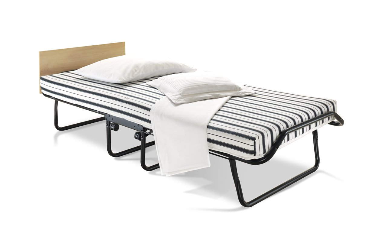 jaybe venus single folding guest bed with dual density airflow mattress amazoncouk kitchen u0026 home