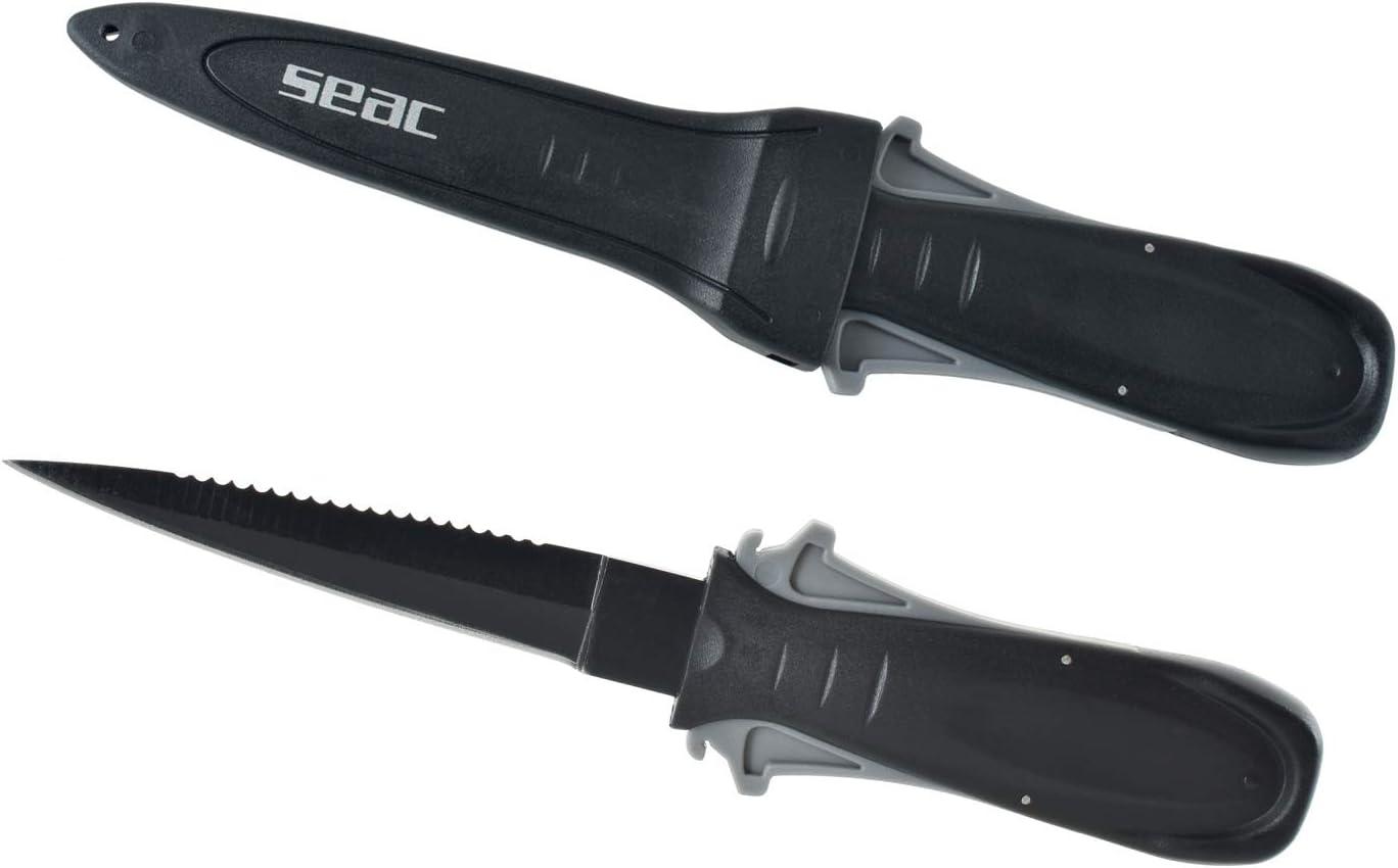 Adultos Unisex tama/ño 150cm X /Ø25cm Negro SEAC Hide Bolsa en Cordura para Fusil de Pesca submarina 150x25cm