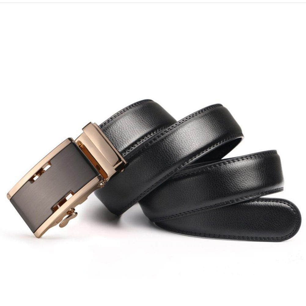 Comfortable Formal Belts Work Clothes Uniforms Office Career Party XUEXUE Mens Belt,Automatic Buckle Belt Business Belt Stylish Adjustable Belt Soft Work Active Basic Leather Look Great