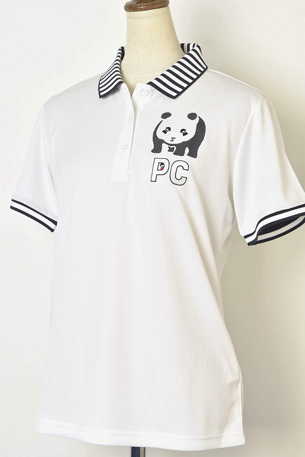 (ピッコーネ クラブ) PICONE CLUB 半袖ポロシャツ レディース ゴルフ c859307 M(01) ホワイト(191) B07S4GYBW8