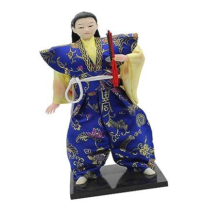Toygogo Delicada Decoración Japonesa De Muñecas De Arte ...