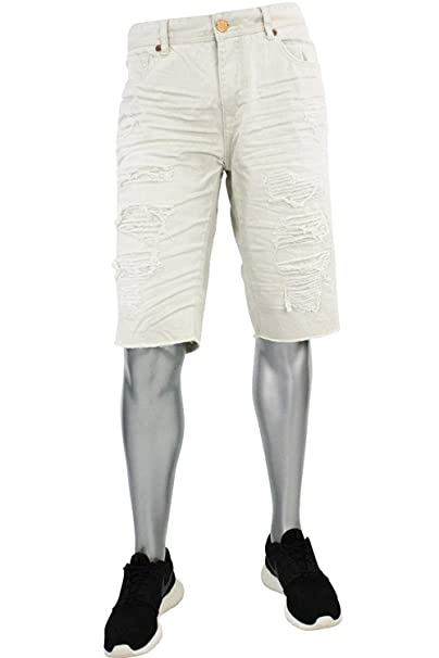 a01aa30d60c Jordan Craig Shredded Denim Shorts from Legacy Edition at Amazon ...