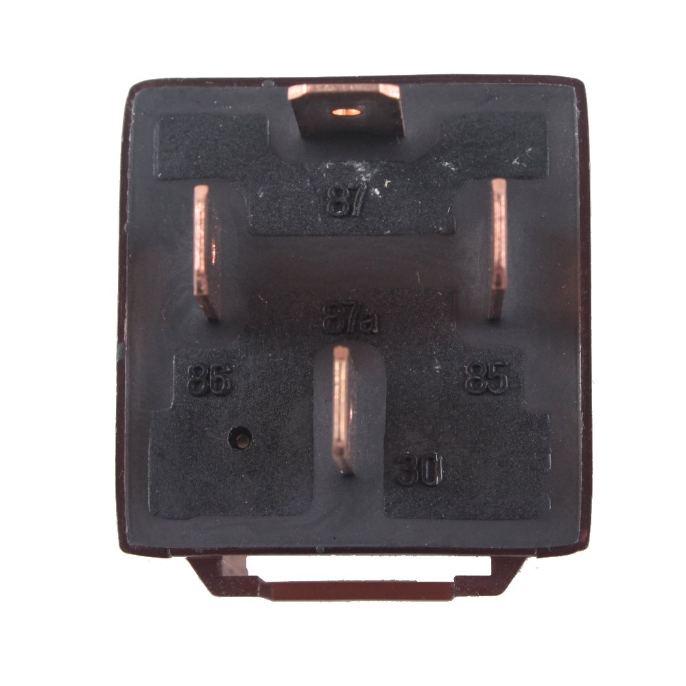 Esupport Car Relay 12v 80a Spst 4pin Pack Of 10 Switches