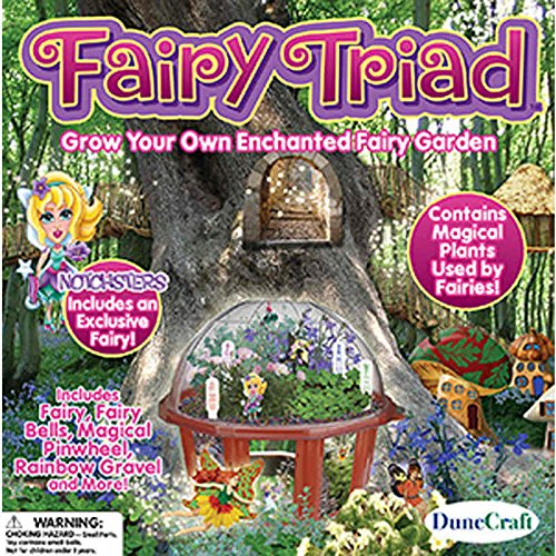 Enchanted Fairy Garden Kit (The Fairy Triad)