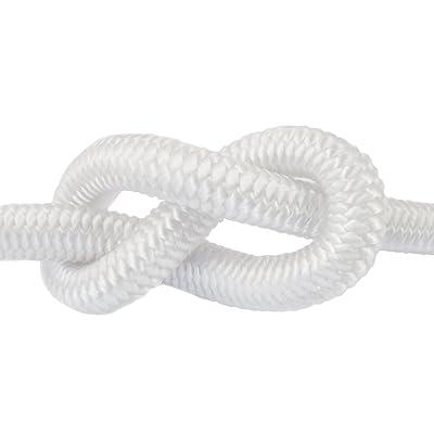 20m corde élastique câble 6mm blanc - plusieurs tailles et couleurs
