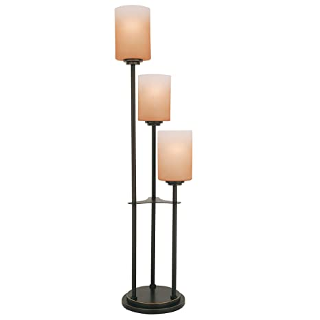 Lite source ls 20700dbrz bess 3 light table lamp with amber glass lite source ls 20700dbrz bess 3 light table lamp with amber aloadofball Image collections