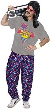 Outfit para la playa de los años 80 para hombre | Gris-Morado en ...