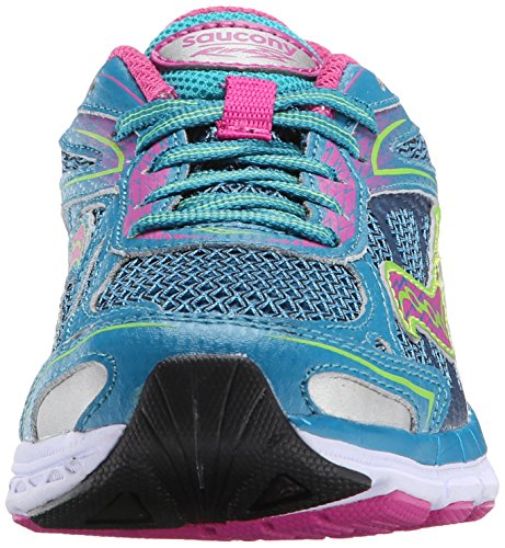 Saucony Ride 8, blue - pink - green, 37 1/2