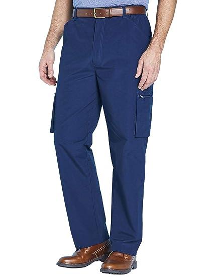 7d28a27e8b85f Pantalon Cargo Actif Imperméable Homme Bleu Marin UK 36/EU 52 x Court - 74cm