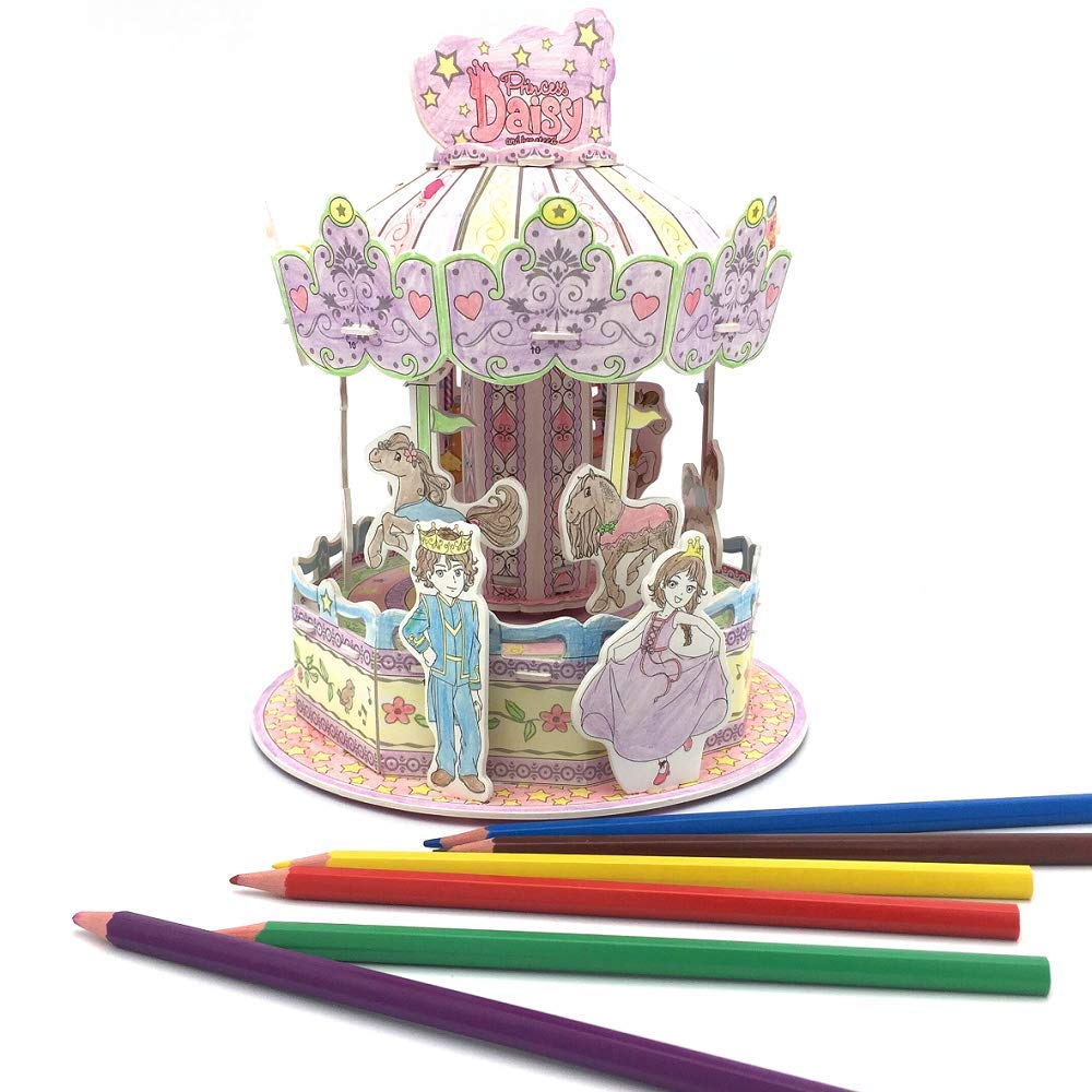 Puzzle /& More Nosto Gift Your Girl a Fairy Tale Doodle Adventure Nosto Craft Industrial Co Ltd.