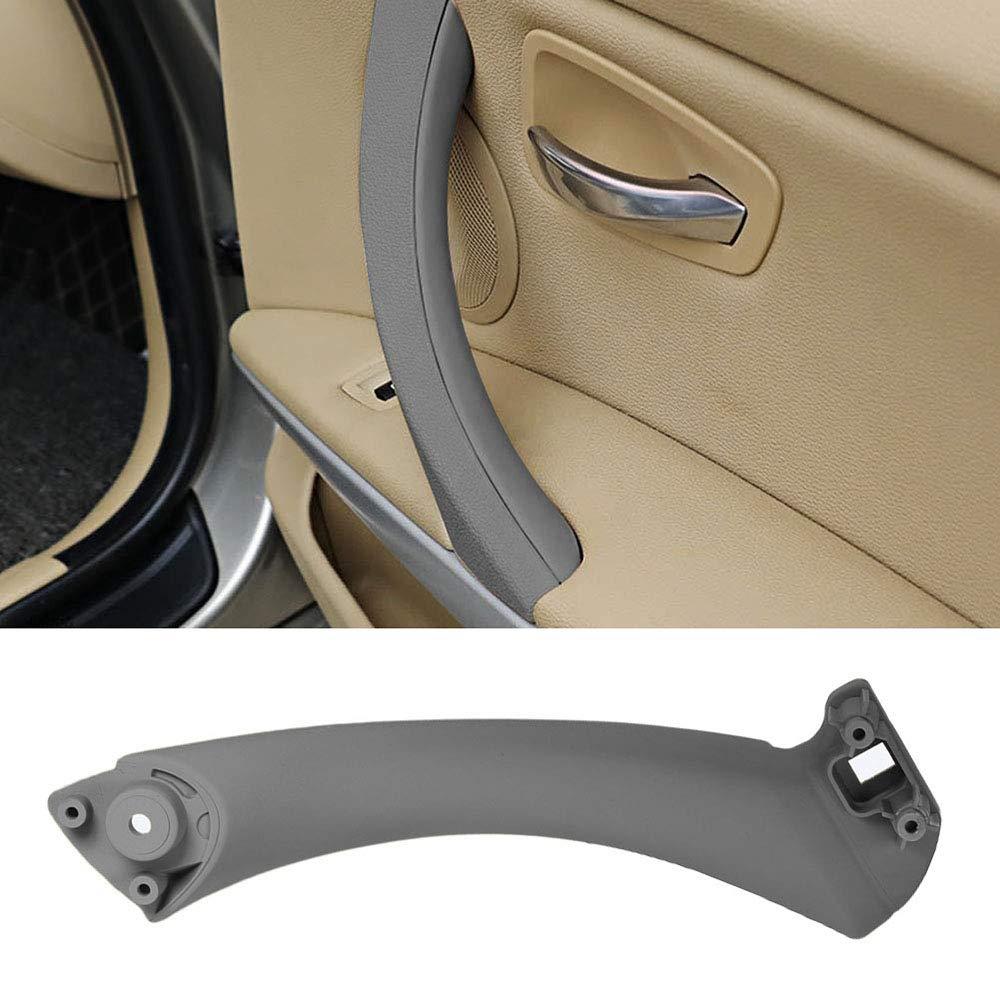 Festnight Coche Izquierda Derecha Manija de la Puerta Interior Soporte de Soporte de Puerta Interior para BMW 3 Series E90 E91 316 318 320 325 328 330 335