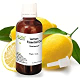 Allin Exporters Steam-Distilled Lemon Essential Oil - 100% Pure, Natural and Therapeutic Grade