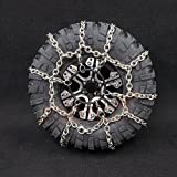 Xtra Speed 114mm Steel Snow Chain 2pcs For 1.9 Crawler Tires #XS-59626