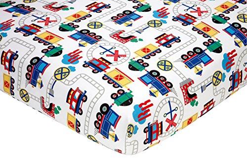 Everything Kids Toddler Bedding Set, Choo Choo 4