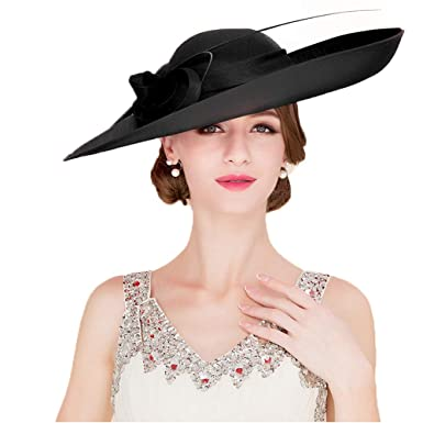 7f8586769893f Royal Ladies Sinamay Weddings Hats Fascinators Big Brim Kentucky ...