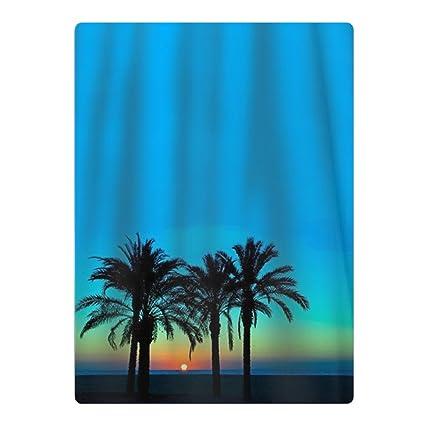 Palm Tree - Toalla de playa, esterilla de yoga, alfombra de picnic, toalla