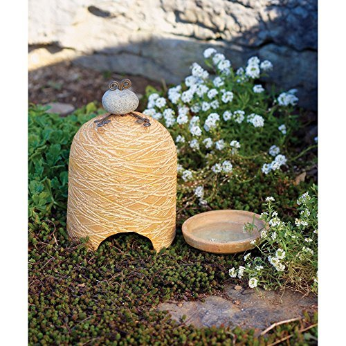 - Ancient Graffiti Ceramic Toad House with Bath