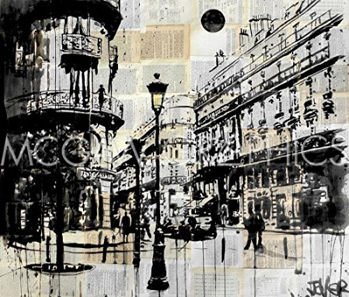 French Quarter Poster Print by Loui Jover