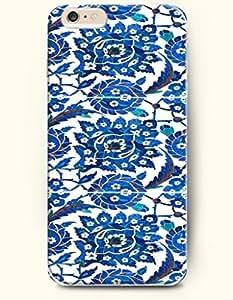 SevenArc Apple iPhone 6 Plus 5.5' 5.5 Inches Case Moroccan Pattern ( Blue Subtle Moroccan Mosaic Design )