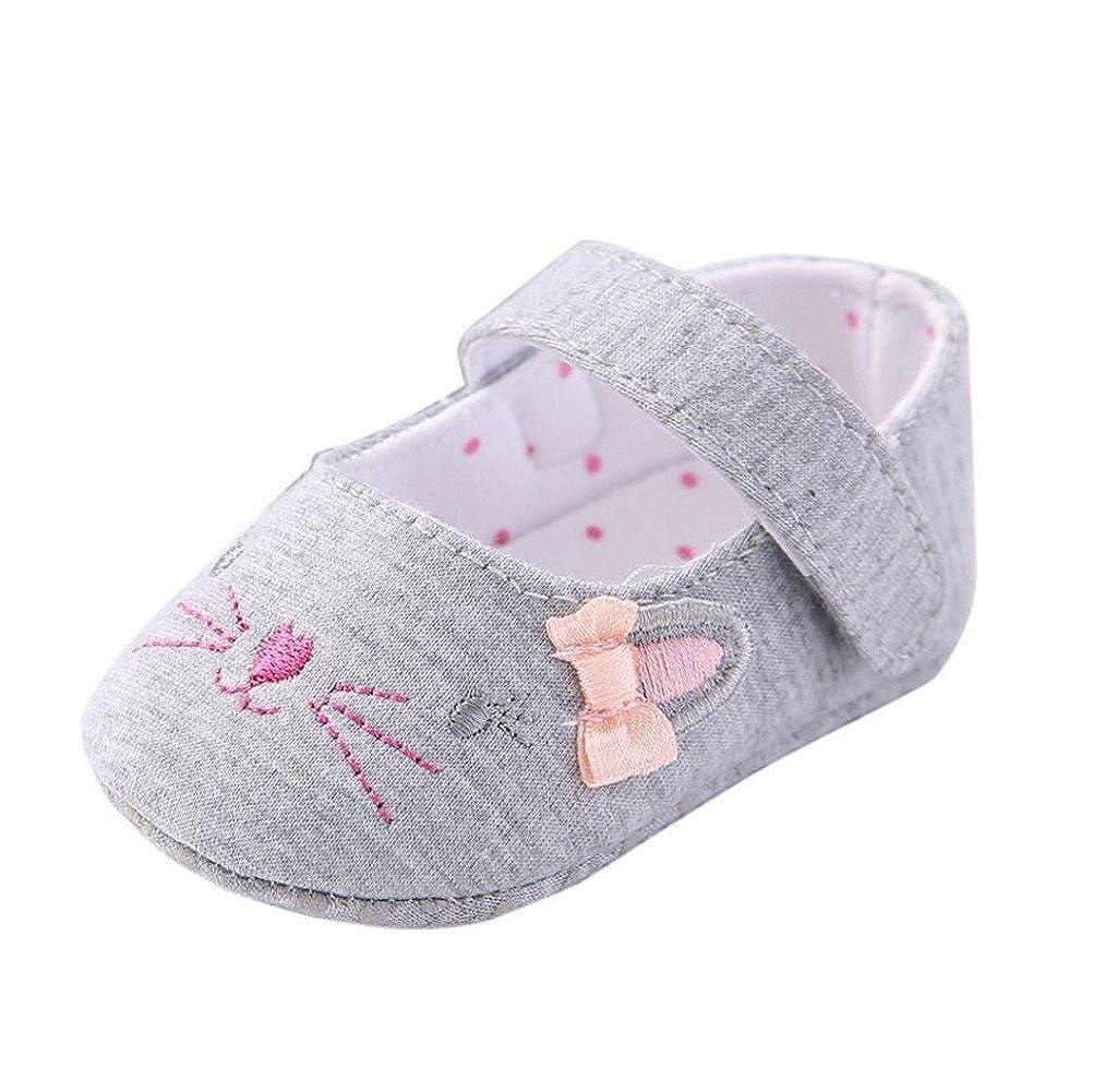 Zapatos de bebé,Tongshi Niño Niñas Cuna Zapatos Antideslizante Suela ...