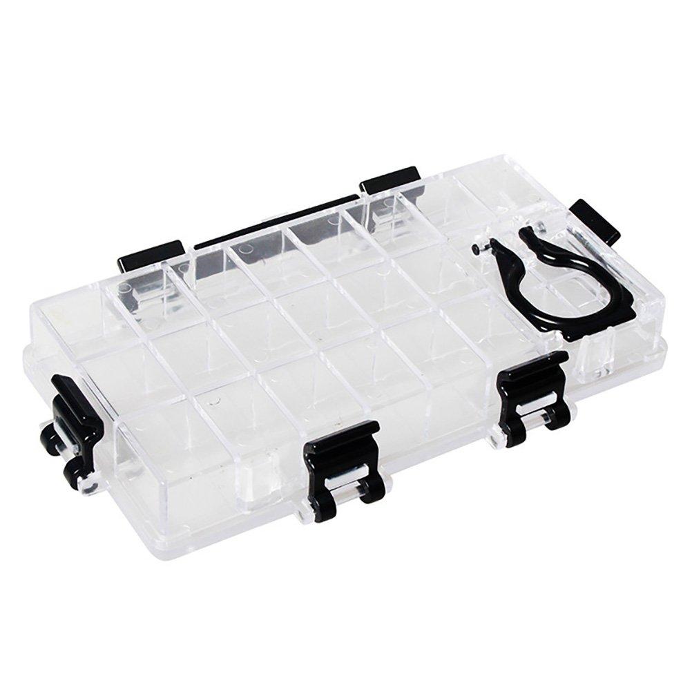 Healifty plastica acquerello tavolozza box contenitore ermetico 24Deep pozzetti per acquerello gouache pittura ad olio