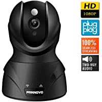 Pannovo 1080P Wireless Wifi Security Camera