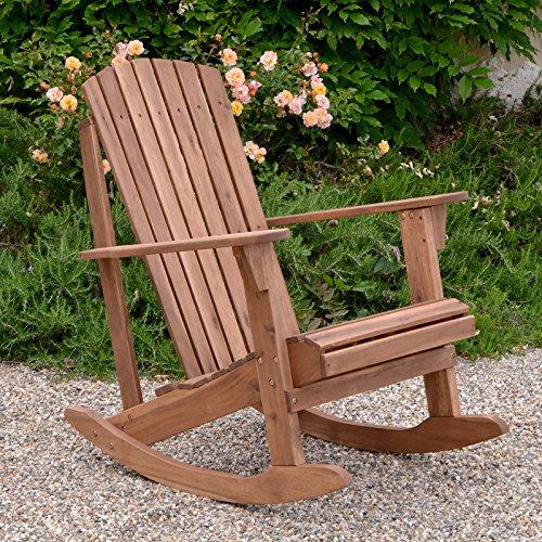 Plant Theatre Adirondack Hardwood Rocker - Superb Quality - Adirondack Rocker Seat Cushion