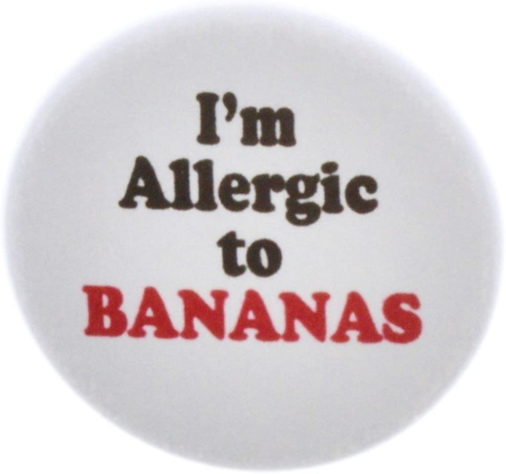 A&T Designs I'm Allergic to BANANAS 2.25