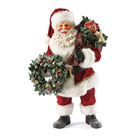 Department 56 Possible Dreams Christmas Eve Santa Figurine, 19.75 inch