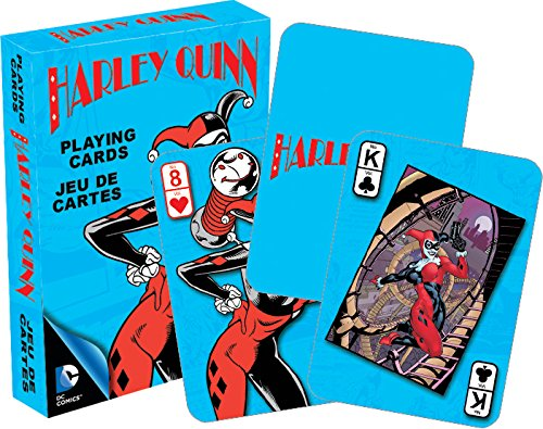 [DC Comics Harley Quinn Playing Cards] (Card Joker Costumes)