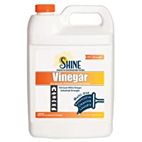 30% Vinegar - 300 Grain Vinegar Concentrate - 1 Gallon of Natural Concentrated Industrial...