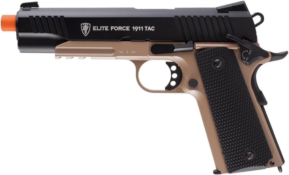 Elite Force 1911 Tac Blowback Airsoft Pistol