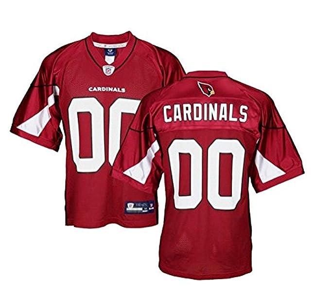 Camiseta Reebok, réplica, del equipo de los Arizona Cardinals de la NFL, para hombre, Hombre, color rosso, tamaño X-Large: Amazon.es: Ropa y accesorios